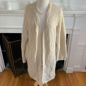 H&M DIVIDED oversized chunky soft cardigan pockets